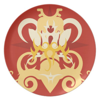 Abstraction One Osiris Plate