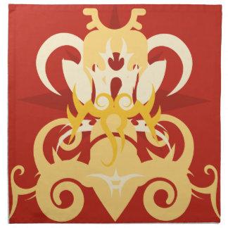 Abstraction One Osiris Printed Napkin
