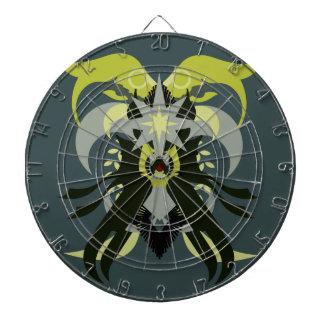 Abstraction Seven Loki Dartboard