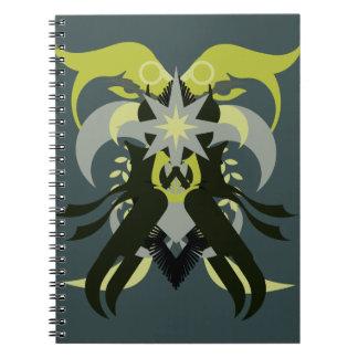 Abstraction Seven Loki Notebook