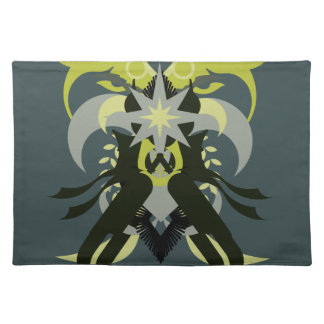Abstraction Seven Loki Placemats