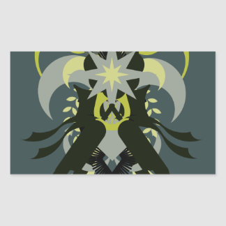 Abstraction Seven Loki Sticker