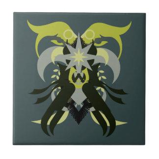 Abstraction Seven Loki Tile