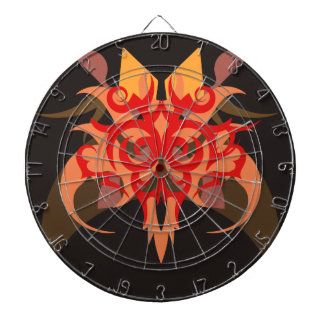 Abstraction Six Ares Dartboard