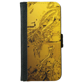 abstraction: spray iPhone 6 wallet case