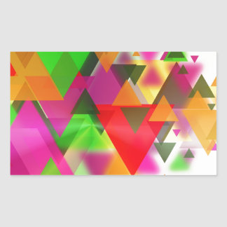 abstraction sticker