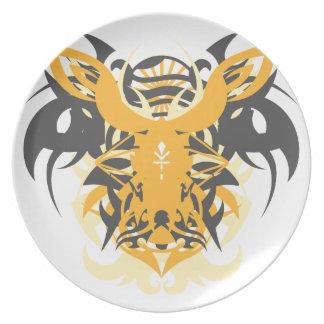 Abstraction Ten Nemesis Plate