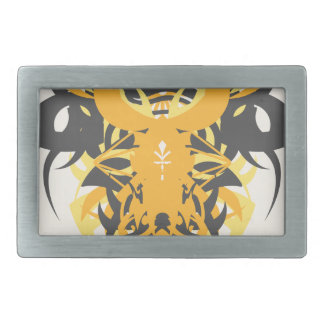 Abstraction Ten Nemesis Rectangular Belt Buckles