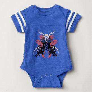 Abstraction Three Aura Baby Bodysuit