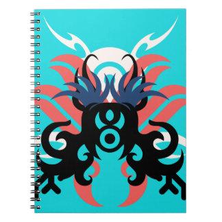 Abstraction Three Aura Notebook