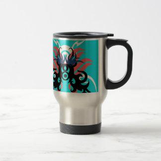 Abstraction Three Aura Travel Mug