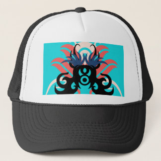 Abstraction Three Aura Trucker Hat