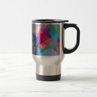 Abstraction Triangres Mug