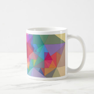 Abstraction Triangres Mugs