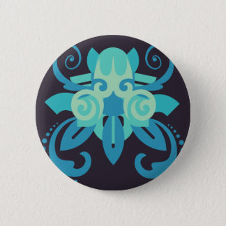 Abstraction Two Poseidon 2 Inch Round Button