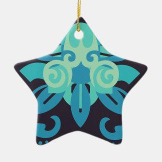 Abstraction Two Poseidon Ceramic Ornament