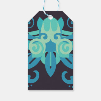 Abstraction Two Poseidon Gift Tags