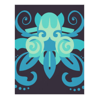 Abstraction Two Poseidon Letterhead