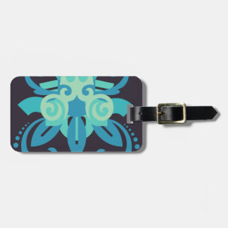 Abstraction Two Poseidon Luggage Tag