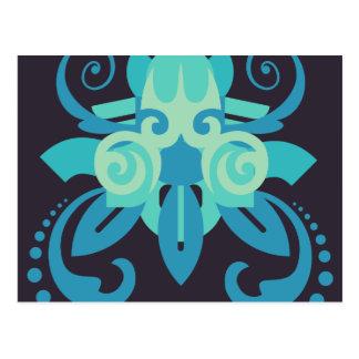 Abstraction Two Poseidon Postcard