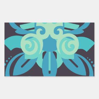 Abstraction Two Poseidon Sticker