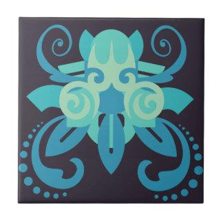 Abstraction Two Poseidon Tile