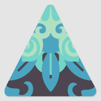 Abstraction Two Poseidon Triangle Sticker