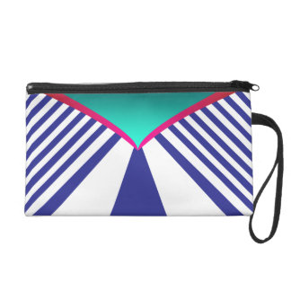 Abstraction Wristlet Purses