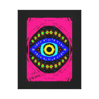 """Abstractly """"God eye """" Canvas Print"""