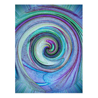 Abstractly in perfection 14 postcard
