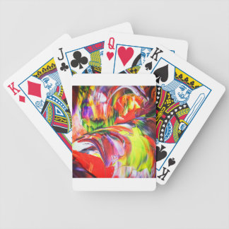 Abstractly in perfection 6 bicycle playing cards