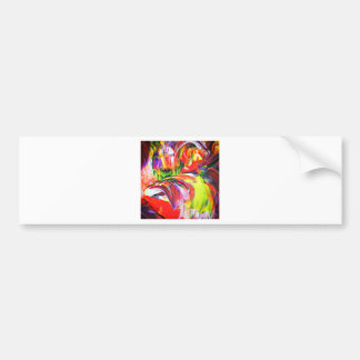Abstractly in perfection 6 bumper sticker