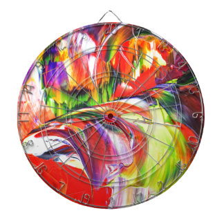 Abstractly in perfection 6 dartboard