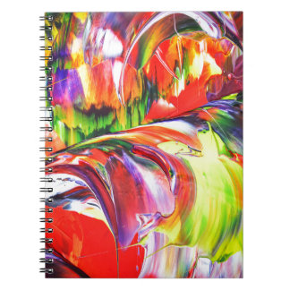 Abstractly in perfection 6 notebook