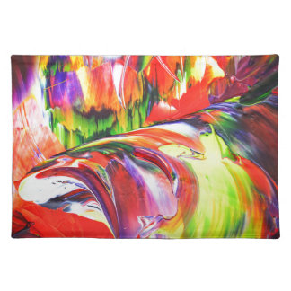Abstractly in perfection 6 placemat