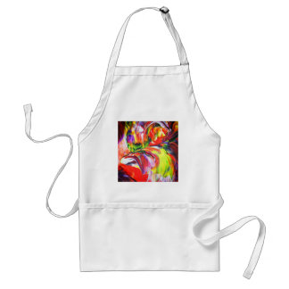 Abstractly in perfection 6 standard apron