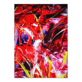 Abstractly in perfection card