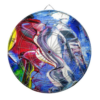 Abstractly in perfection dartboard