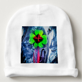 Abstractly in perfection luck baby beanie