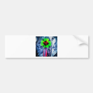 Abstractly in perfection luck bumper sticker