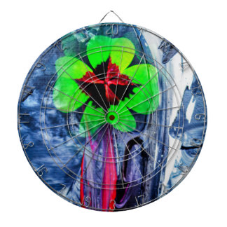 Abstractly in perfection luck dartboard