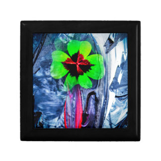 Abstractly in perfection luck gift box