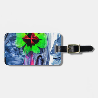 Abstractly in perfection luck luggage tag