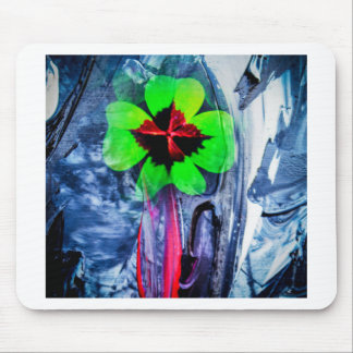 Abstractly in perfection luck mouse pad