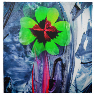 Abstractly in perfection luck napkin