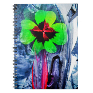 Abstractly in perfection luck spiral notebook