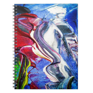 Abstractly in perfection notebook