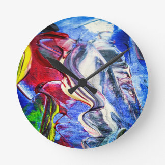 Abstractly in perfection round clock