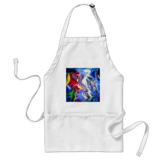 Abstractly in perfection standard apron