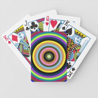 Abstractly samples bicycle playing cards